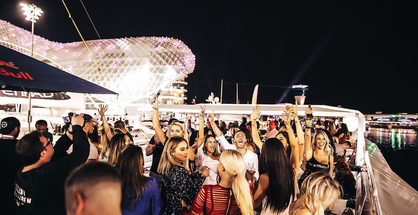 Hosting a Super Yacht Party at the Abu Dhabi F1